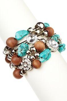 Turquoise Jewel Bracelet