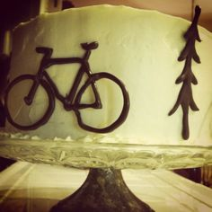 Guest-of-honor homemade bicycle cake. Bicycle Cake, Cake Decorating, Decorating Ideas, Healthy Kids, Birthday Cakes, 50th, Favorite Recipes, Homemade