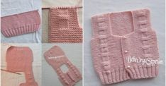 Baby vest construction for months - Anime Thing