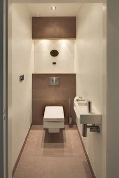 lichte, modern toilet