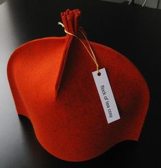 Tea Cozy in the shorn style with a tassel, standard size