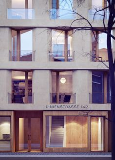 Rendering  - Linienstraße by xoio, via Behance