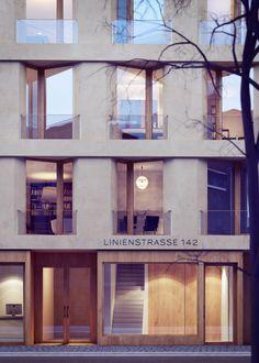 Rendering  - Linienstraße by xoio, via Behance
