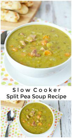 Slow Cooker Split Pe
