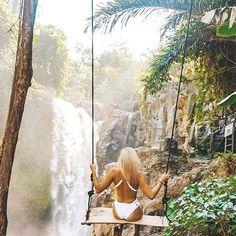 Ubud, Bali waterfalls #tenenungan #bali #thebalibible via @jetsetchristina