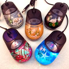 'Seascape LED Color-Changing Optical Mouse' is going up for auction at 12pm Wed, Nov 14 with a starting bid of $10.