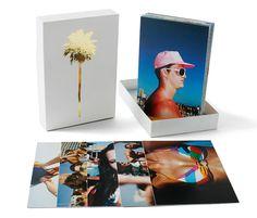 Box of postcards promo