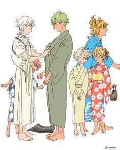 お祭りに行く刀剣 ◆15/6.15 - nono.
