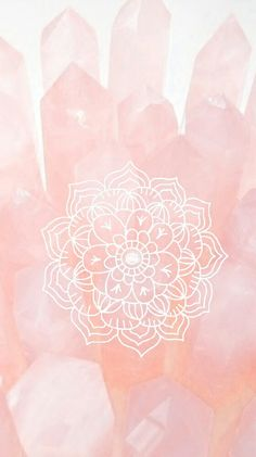 Light pink & flower.