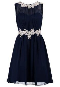 Zalando kleid lang blau