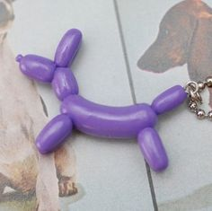 Cute and easy polymer clay balloon animal !!