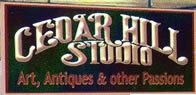 Brand new to Downtown Waynesville North Carolina, Cedar Hill Studio, under the direction of Gretchen Clasby, offers a variety of local artist's work. Take a virtual tour of the shop by clicking on the photo.