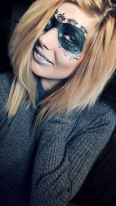 Makeup mask halloween