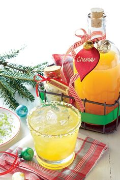 Pineapple Craft Cocktail with Lime Sea Salt | Our best recipes for an inspiring season. At the heart of it, Christmas is about spending time with those you love; and fittingly so, many of our fondest holiday memories with our family and friends take place around the dining table, in the kitchen, or at the annual cocktail party. Here in the South, the infectious joy of the season can always be found where food is near. This year, toast the season with our crowd-pleasing appetizers and festive