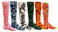 She Plays Sports, Inc. - Camo Socks - Softball Camo Socks Basketball Camo Socks Soccer Camo Socks Volleyball Camo Socks Lacrosse Camo socks Field Hockey Camo socks Tennis Fitness Track and Field Cross Country Running Fastpitch Camouflage Military Armed Forces Army Marine athletics sizes female women's womens girls
