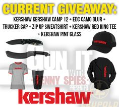 Win a Kershaw Knife Package Giveaway {US} {11/7/16} via... IFTTT reddit giveaways freebies contests