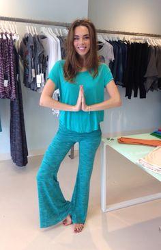 Yoga ready in head to toe Michael Lauren!