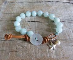 beachcomber gypsy mermaid  knotted bracelet  by beachcomberhome, $32.00