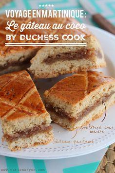 Dans ce gâteau au coco, vous trouverez tout ce qui caractérise la gastronomie des Antilles : épices, saveurs et douceurs. L'idéal pour vos pauses sucrées !
