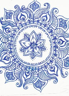 blue mandala by BlackBeltVampyre on deviantART