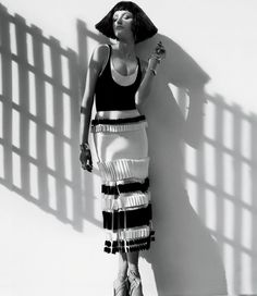 Basking in #blackandwhite. #weekendmood @c.magazine by houseofherrera