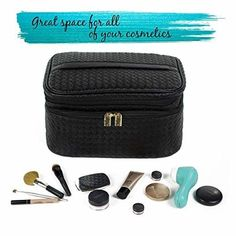 0fafb90abd08 Cosmetic Box Large Make Up perfect for Women Train Style Case storage box