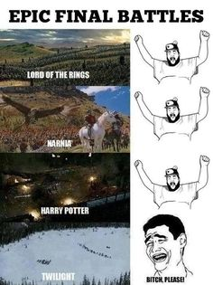 Epic Final Battles – Harry Potter VS Twilight…