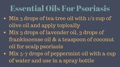 Essential Oils For Psoriasis - Treat Psoriasis Naturally
