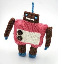 My first robot! Lily Dustbin (aka knithacker)