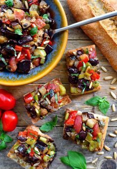Caponata is a delicious sweet and sour eggplant antipasto that can be used in a variety of different ways. A great dish for the summer months, caponata is perfect to serve as a vegan appetizer, side or even main dish.