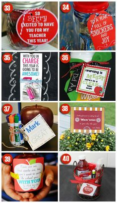 101 Easy and Creative Teacher Gift Ideas
