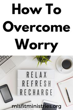 How To Overcome Worry - Misfit Ministries | Learning The Word Bible Encouragement, Christian Encouragement, Spiritual Warfare, Spiritual Growth, Cast All Your Cares, Bible Verses For Women, Fight Or Flight, Let God, Knowing God