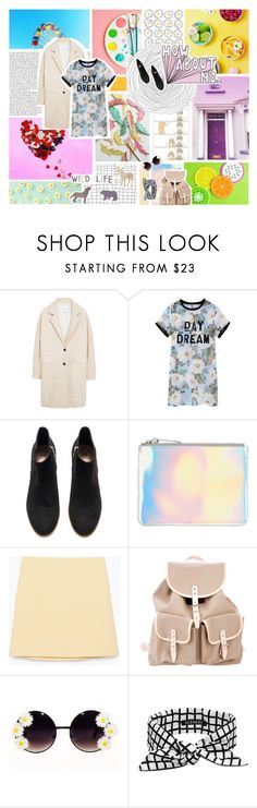 """""""I will be the thing you dream about"""" by sit-still-look-pretty ❤ liked on Polyvore featuring MANGO, H&M, The Mode Collective, Zara and SCENERY"""