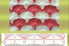 50 Patrones en Puntos Abanico a Crochet. Manta Crochet, Couture, Projects To Try, Crochet Patterns, Blog, Graph Crochet, How To Knit, Embroidery, Tricot