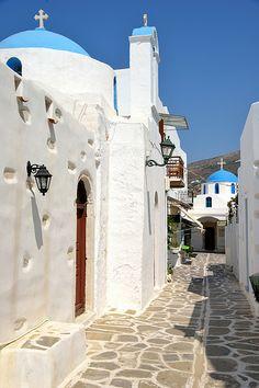 Parikia, Paros, Cyclades, Greece