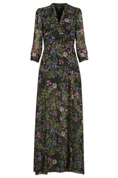 Pussybow Maxi Dress