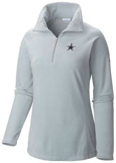 Women's Glacial™ Fleece Half Zip Shirt - Dallas Cowboys