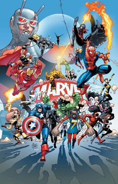 Marvel's 80th Anniversary Celebration Continues This Summer