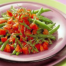 Buffalo Style Green Beans - These zesty veggies are a great make-ahead side dish.