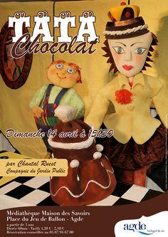 Tata Chocolat - spectacle de Chantal Ruest par la compagnie du Jardin Public - Dimanche 14 avril 2013 - Maison des Savoirs à Agde © Laurent Gheysens