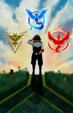 "will2link: ""Pokemon Go is super awesome. Which team do you belong to? "" To answer alongside the awesome art, Team Mystic!"