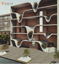 Conceptual Architecture, Arch Architecture, Futuristic Architecture, Residential Architecture, Amazing Architecture, Facade Design, Exterior Design, Modern Architects, Facade House