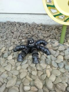 Clay pot spider!