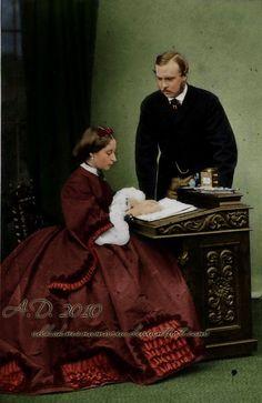 Ludwig and Alice of Hesse by ~VelkokneznaMaria on deviantART