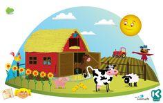 boerderij dieren uitnodiging