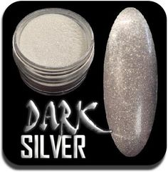 Metallic Nail Art Powder For Use With Acrylic Extensions Available From Www Thenailartist Co Uk