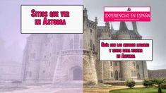 En este artículo vamos a conocer cuales son los mejores sitios y lugares que podemos ver en Astorga. Movie Posters, Movies, Getting To Know, Lets Go, Places, Films, Film Poster, Cinema, Movie