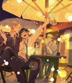 part time with bae 😍😍 Chris Yuri On Ice, Victor Y Yuri, Manga, Yuuri Katsuki, Ice Art, ユーリ!!! On Ice, Anime Costumes, Shounen Ai, Cute Images