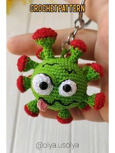 This PDF crochet pattern consists of: ⭐ crochet p Crochet Baby Toys, Crochet Patterns Amigurumi, Crochet Animals, Crochet Dolls, Crochet Keychain Pattern, Crochet Game, Crochet Crafts, Crochet Projects, Crochet Ornaments