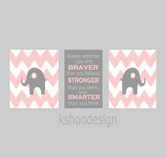 Chevron baby girl nursery nursery room print Baby by kshoodesign, $85.00 13x19